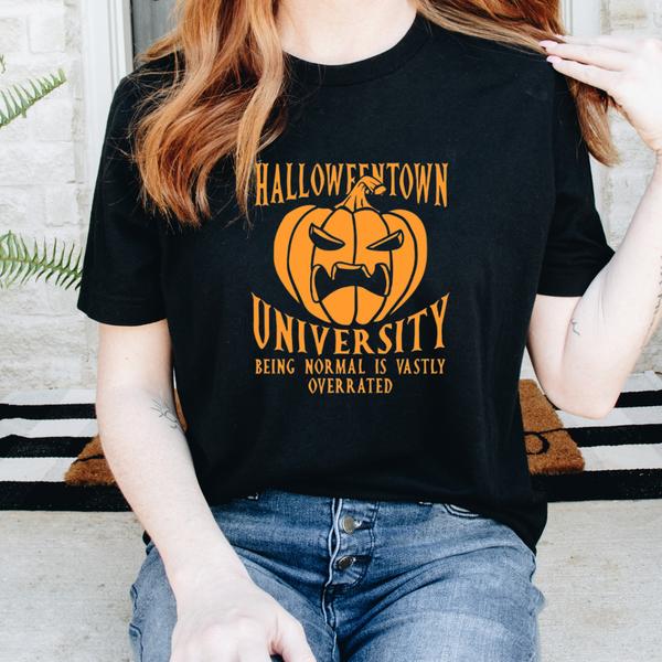 Halloween Town University Graphic Tee