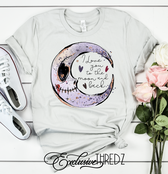 I Love You to the Moon and Back Graphic Tee