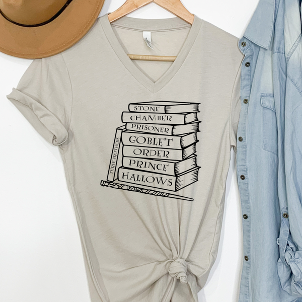 Books - Harry Potter Graphic Tee
