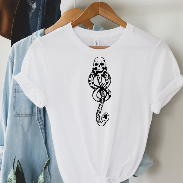 Slytherin Snake - Harry Potter Graphic Tee