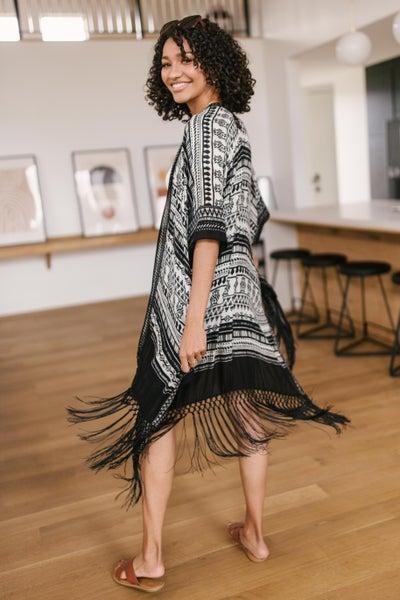 Fantastic Fringe Kimono