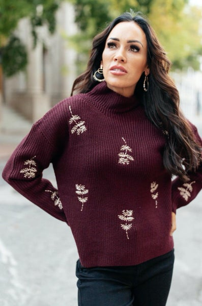 Genevieve Embroidered Sweater