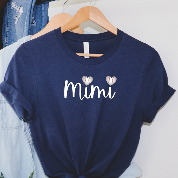 Mimi Baseball Graphic Tee