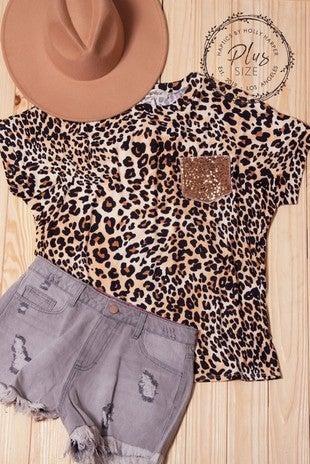Layla Leopard Top