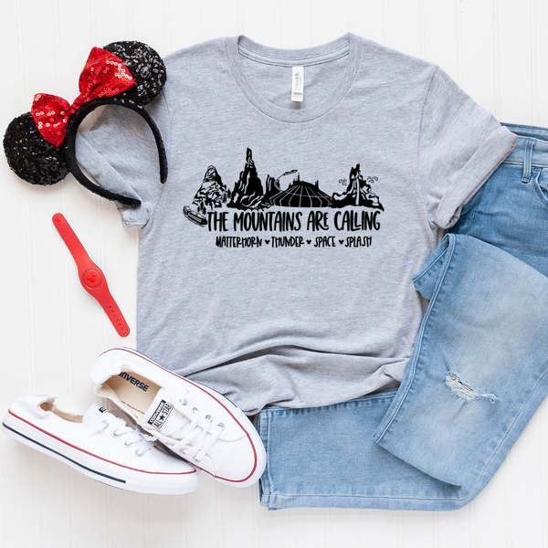The Mountains Are Coming Magical Land Graphic Tee