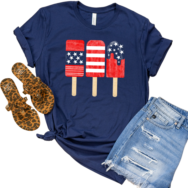 USA Popsicles Graphic Tee