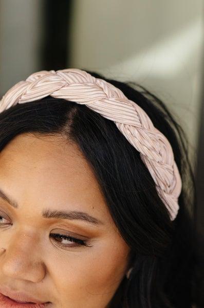 Beaming Braided Headband