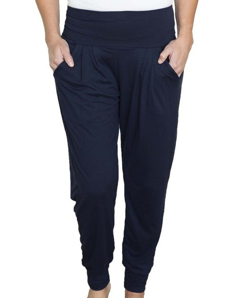 Navy Harem Leggings