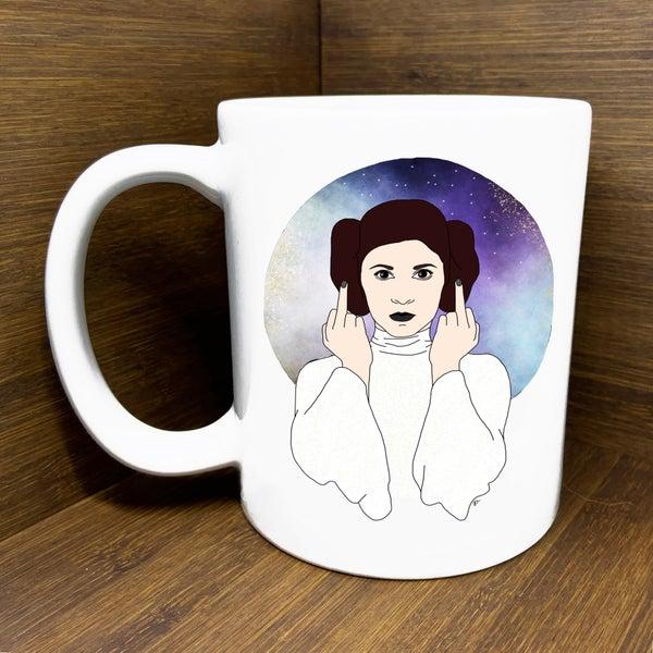 Leia Middle Finger Mug