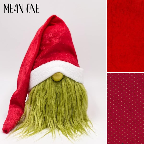 Mean One...Mr. Grinch/Santa *Gnome Pre-Order*