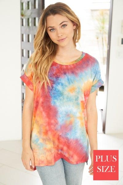 Earthy Tie Dye Tops - 3 Colors