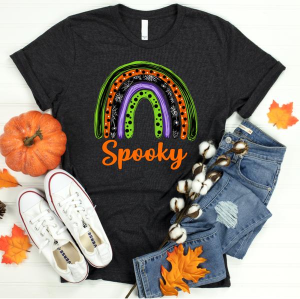 Spooky Rainbow Graphic Tee