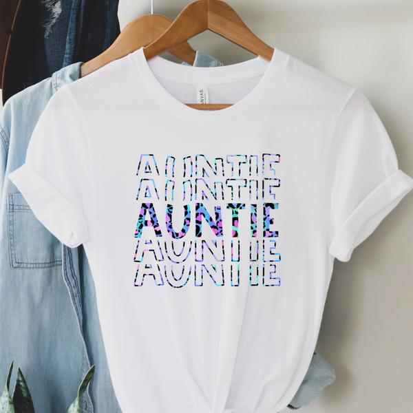 Auntie / Mini Matching Graphic Tee