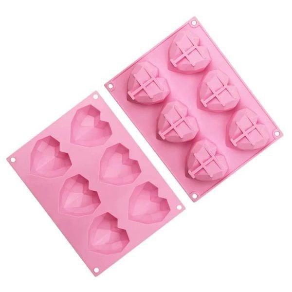 Heart Cocoa Bomb Mold & Pastry Brush Set