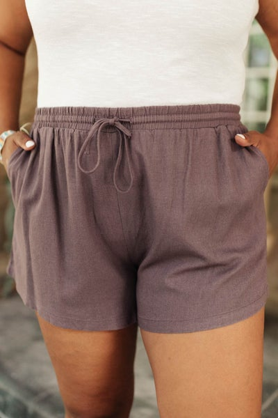 Simplicity Shorts in Gray