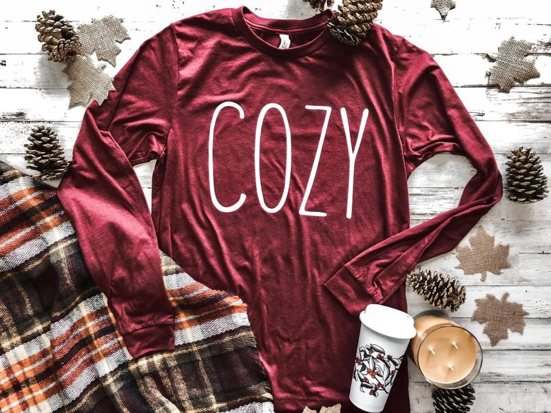 COZY Long Sleeve Graphic Tee *Pre-Order*