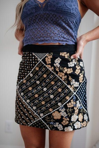 Modern Vintage Mini Skirt