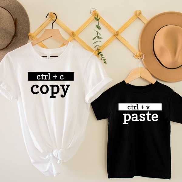 Copy Paste Mommy & Me Graphic Tee