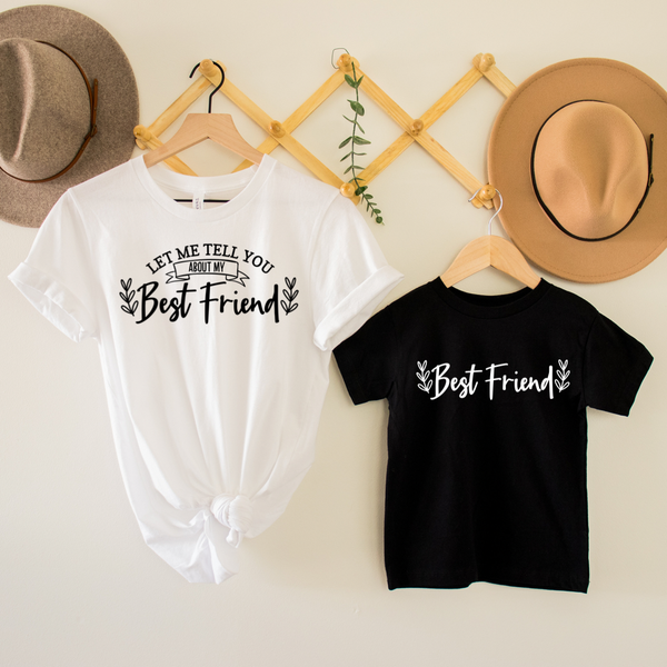 Best Friend Mommy & Me Graphic Tee