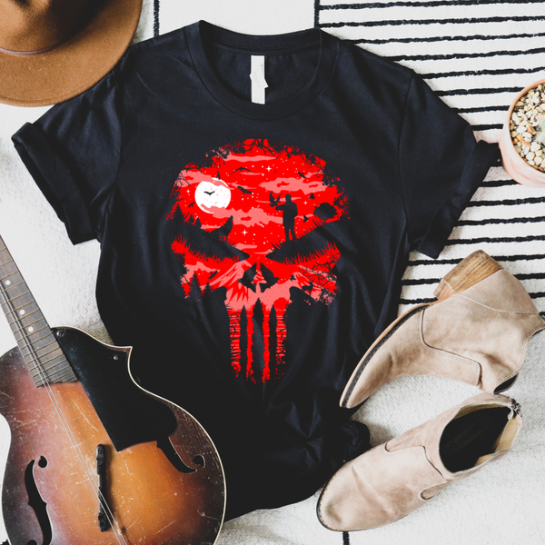 Red Skull Graphic Tee