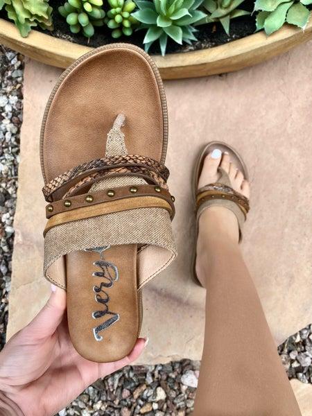 Very G Rose Sandal in Tan