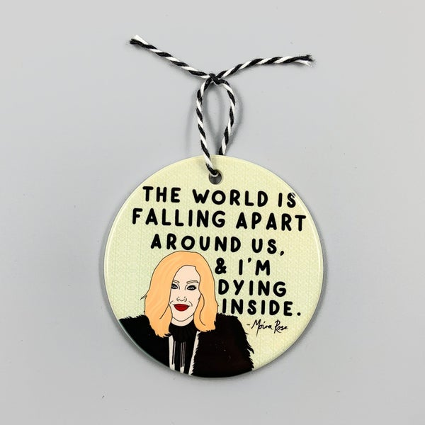 Schitt's Creek Holiday Ornament
