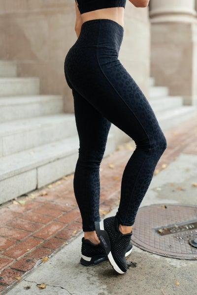 Lux & Plush Leggings in Onyx