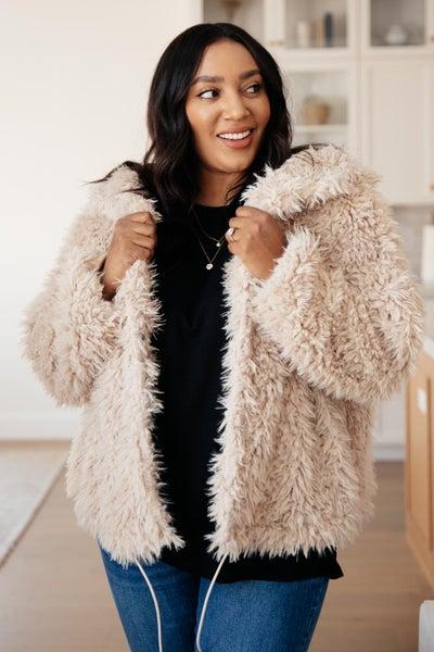 Annika Plush Faux Fur Jacket