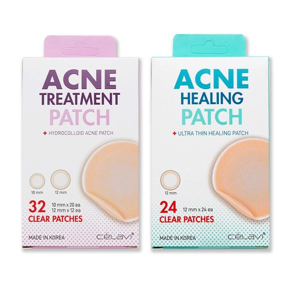 K-Beauty Treat & Heal Acne Patches