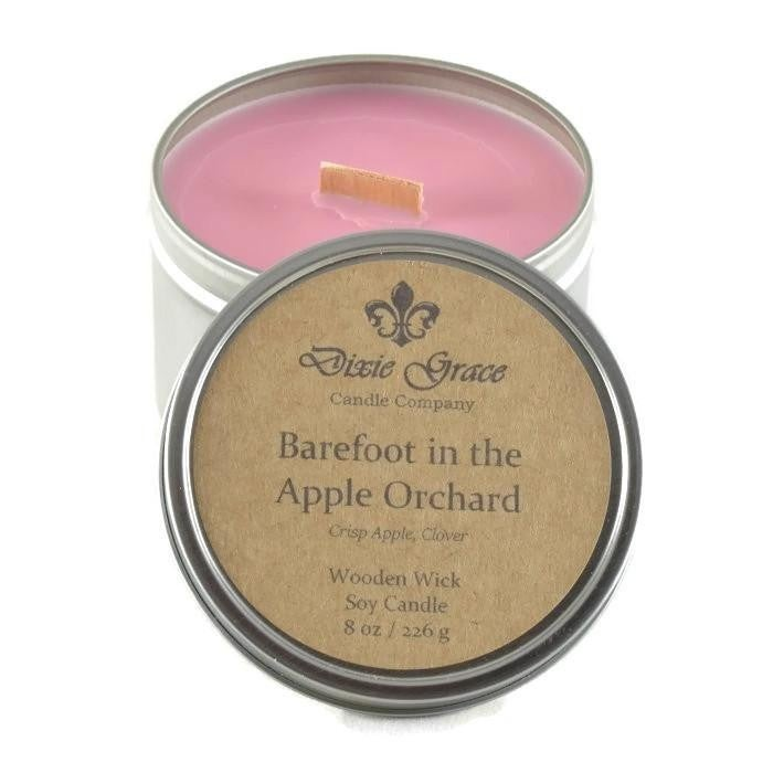 Dixie Grace 16oz Soy HOLIDAY Wood Wick Candles
