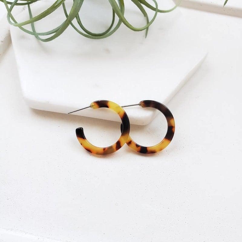 Cam Mini Hoop Earrings