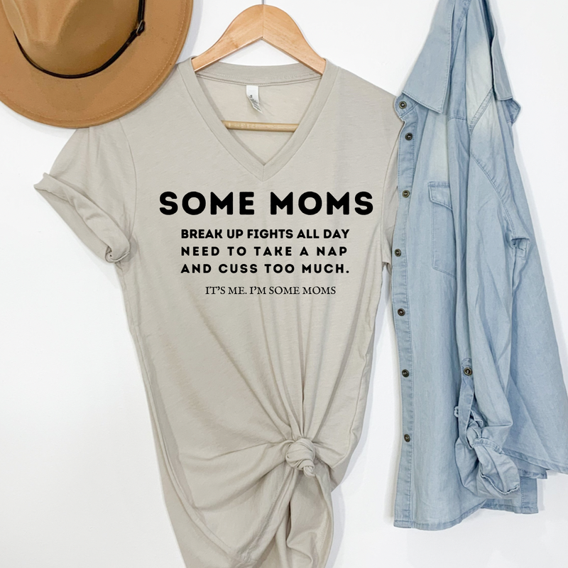 Some Moms Graphic Tee