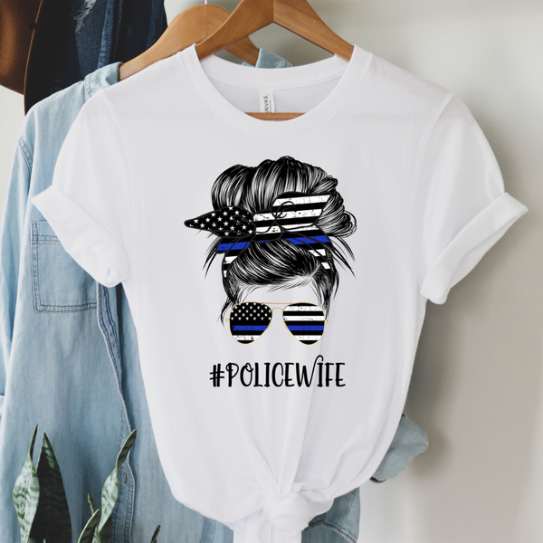 Police Wife Graphic Tee