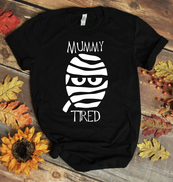 Mummy Tired Graphic Tee