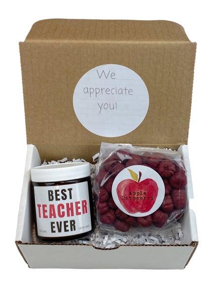 Best Teacher Ever Gift Set