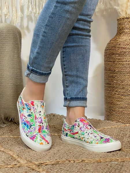 Corkys Babalu Sneaker in Floral Splatter