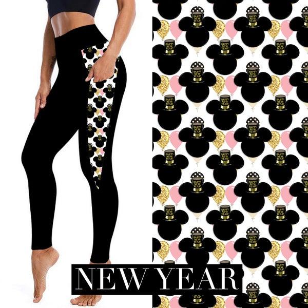 Magical New Year Leggings
