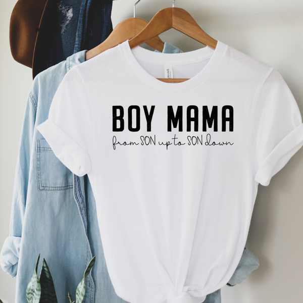 Boy Mama Graphic Tee