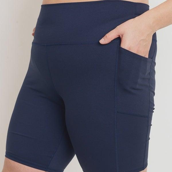 Essential Bermuda Highwaist Biker Shorts