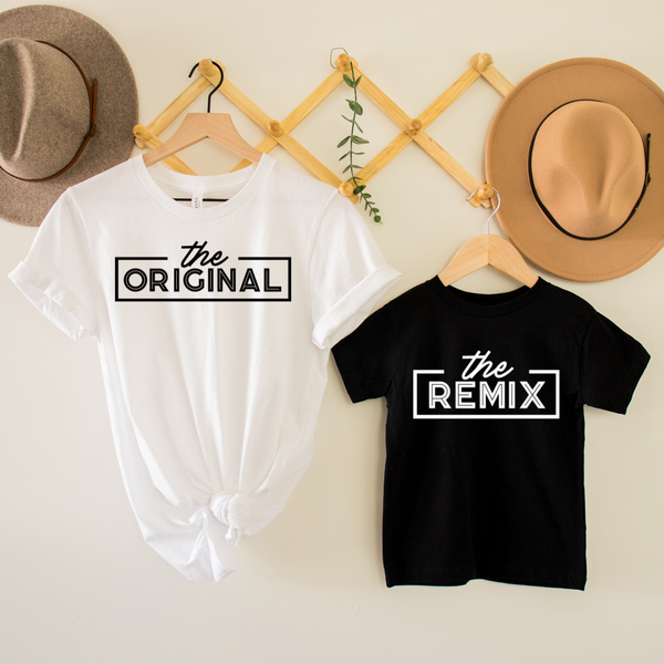 The Original / The Remix Mommy & Me Graphic Tees