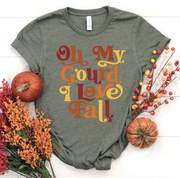 Oh My Gourd I Love Fall Graphic Tee