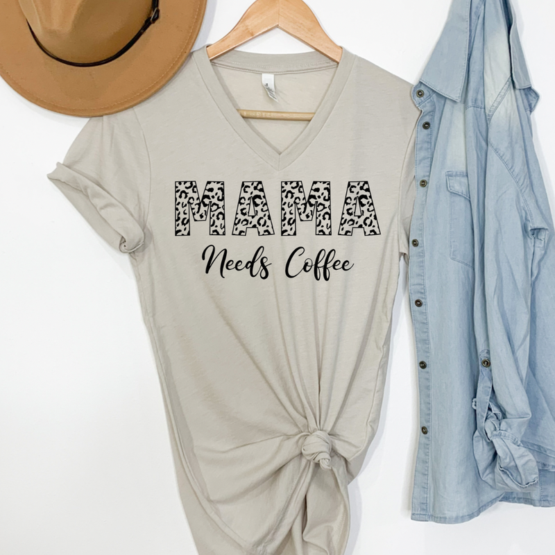 Mama Need Coffee Graphic Tee