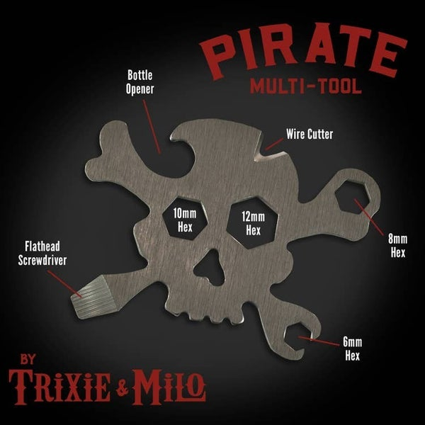 "Trixie & Milo - Pirate Multi-Tool"" 7-in-1 Tool"