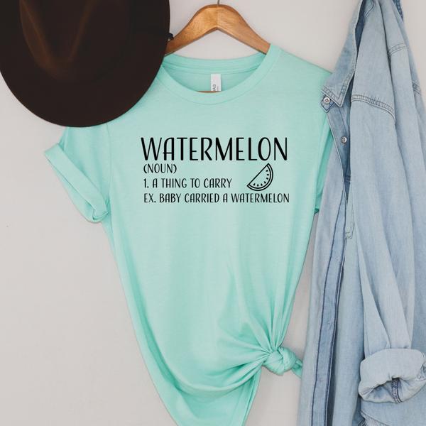 Watermelon Definition Graphic Tee