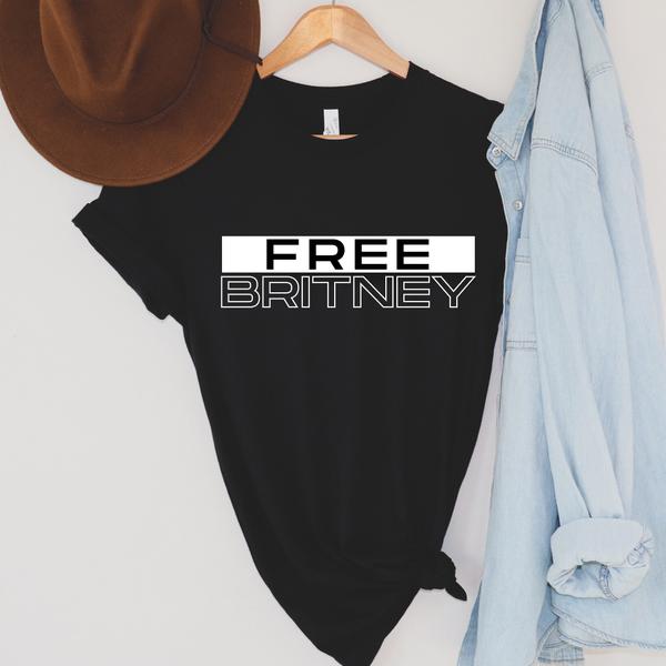 Free Britney - Black & White - Graphic Tee