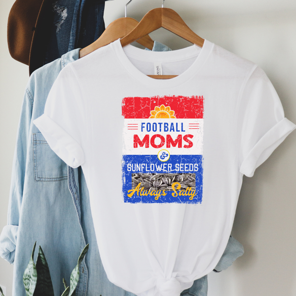 Salty Football Mom Graphic Tee