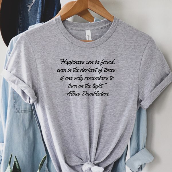 Dumbledore Quote - Harry Potter Graphic Tee