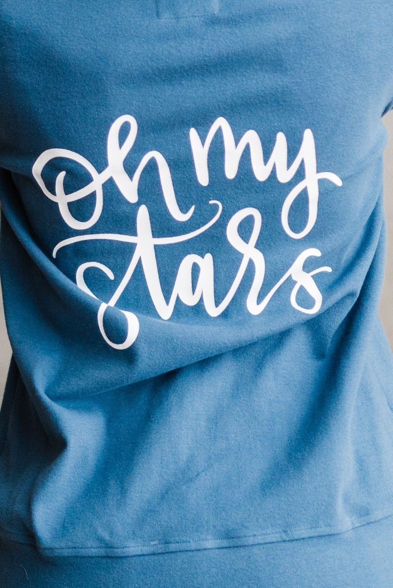 A&A Full Zip Sweatshirt - Oh My Stars *Pre-Order*