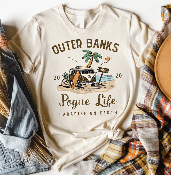 Outer Banks Pogue Life Graphic Tee