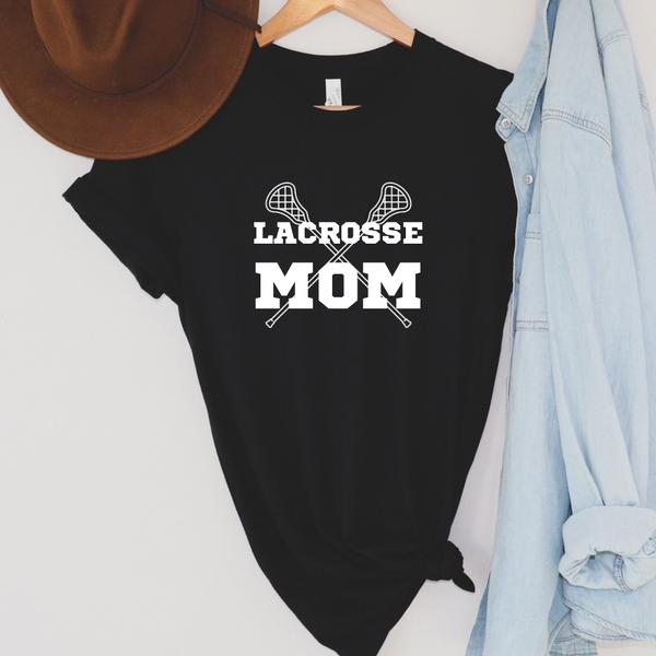 Lacrosse Mom Graphic Tee